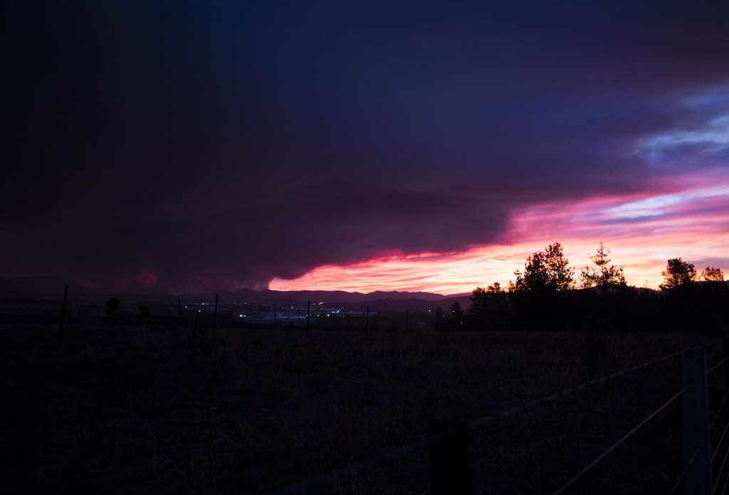 Fire in the sky and on the ground by nicolecampbell