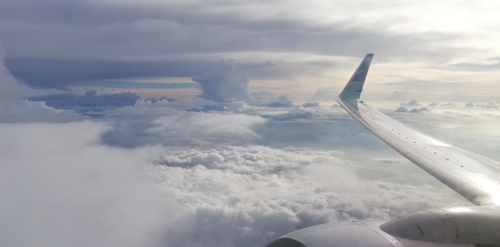 Above the clouds by julianneovie