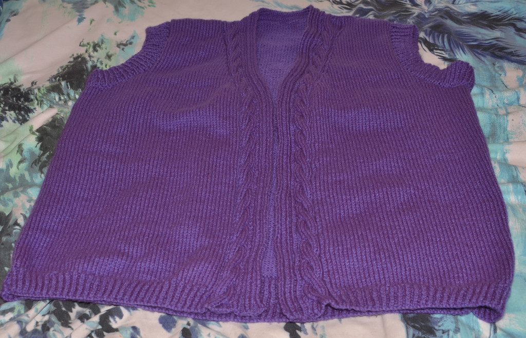 Purple Waistcoat by arkensiel