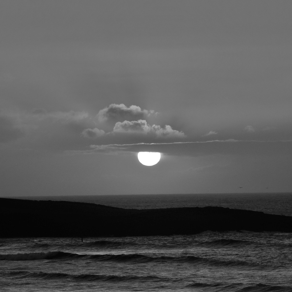 Black and white sunrise (Feb 1st) by etienne