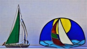 3rd Feb 2020 - Stained Glass Figurines ~
