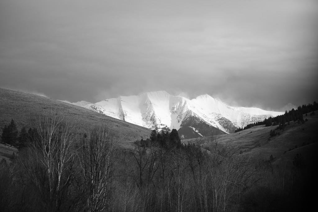Mountain Grandeur by bjywamer