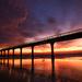 Glorious morning - amazing sunrise - gale wind by maureenpp