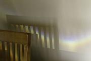 3rd Feb 2020 - Rainbow on my kitchen wall.