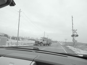 3rd Feb 2020 - Stopped by a CN Work truck