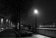 3rd Feb 2020 - The lamp at night