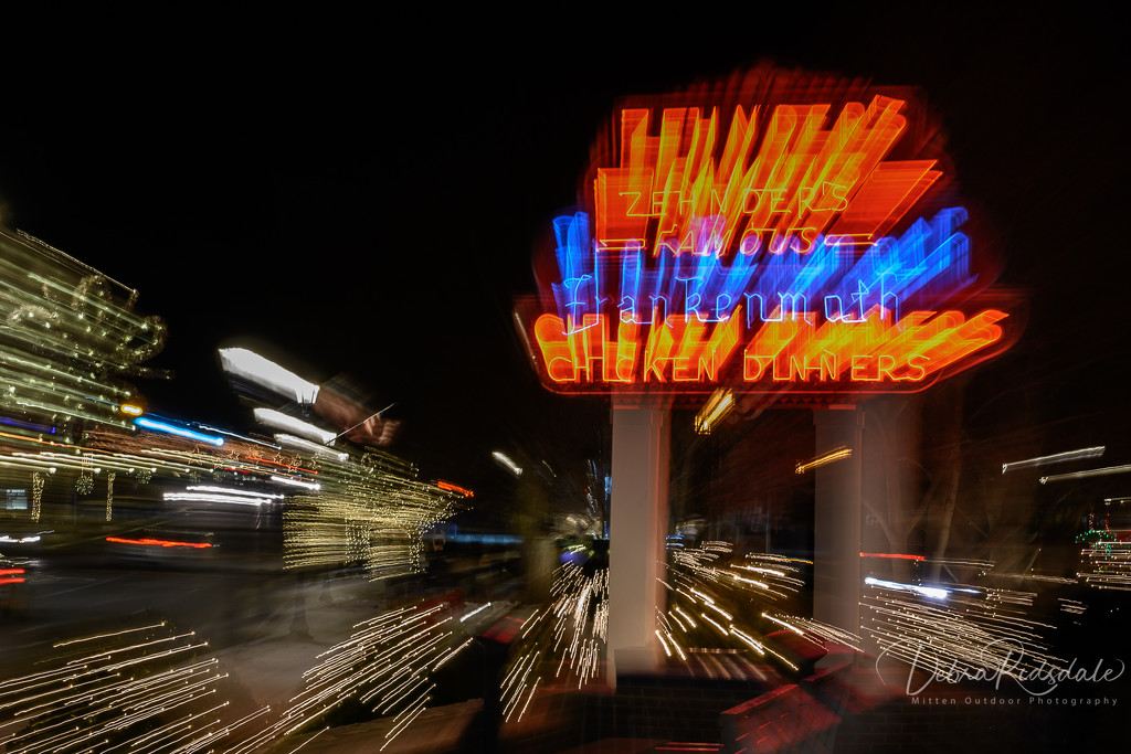 Zehnder's Famous Chicken Dinners at Warp Speed by dridsdale