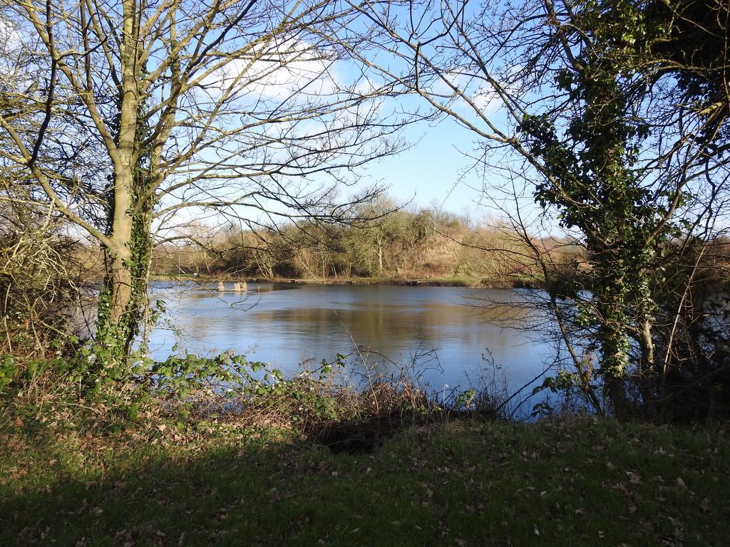 Blue Pond by oldjosh