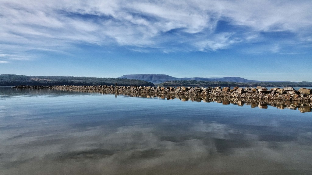 Still Waters - On the Only Clear Day This Month by milaniet