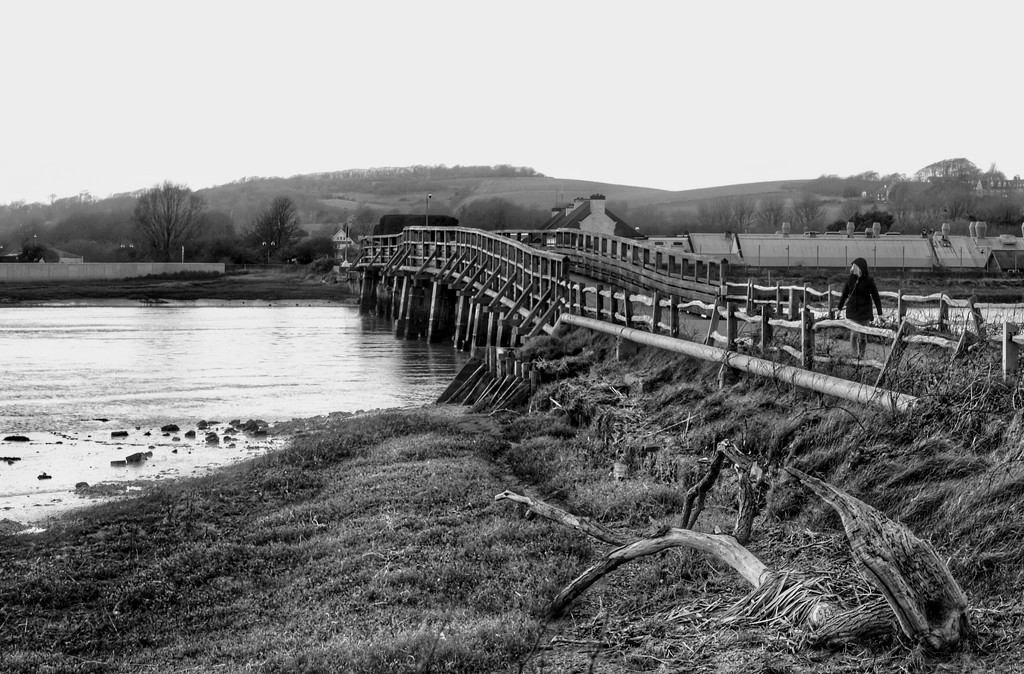River Crossing B&W by 4rky