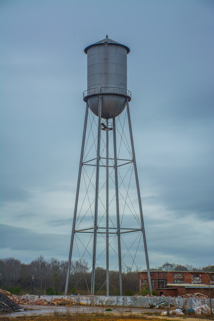 Water tower... by thewatersphotos