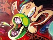 2nd Feb 2020 - Graffiti Grin