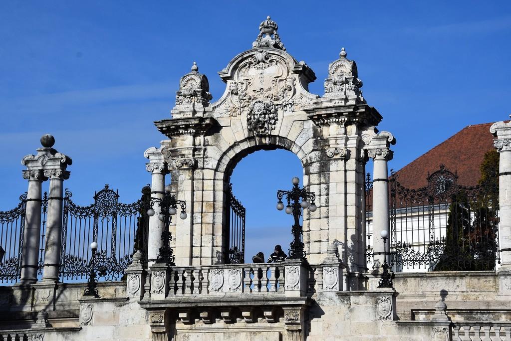 Royal palace gate by kork