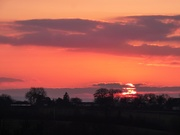6th Feb 2020 - Sunset on the hill