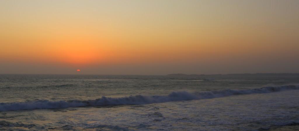 Sea, Smoke & Sunset by gilbertwood