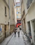 7th Feb 2020 - Tiny red heart rue Saint Denis.