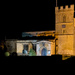 St Lawrence Church by night