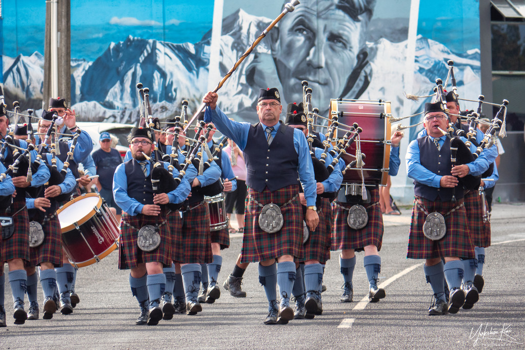 Pipe Band by yorkshirekiwi