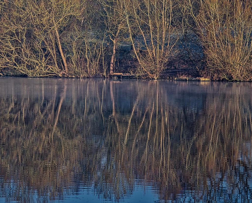 Mapperley Reservoir Reflections. by tonygig