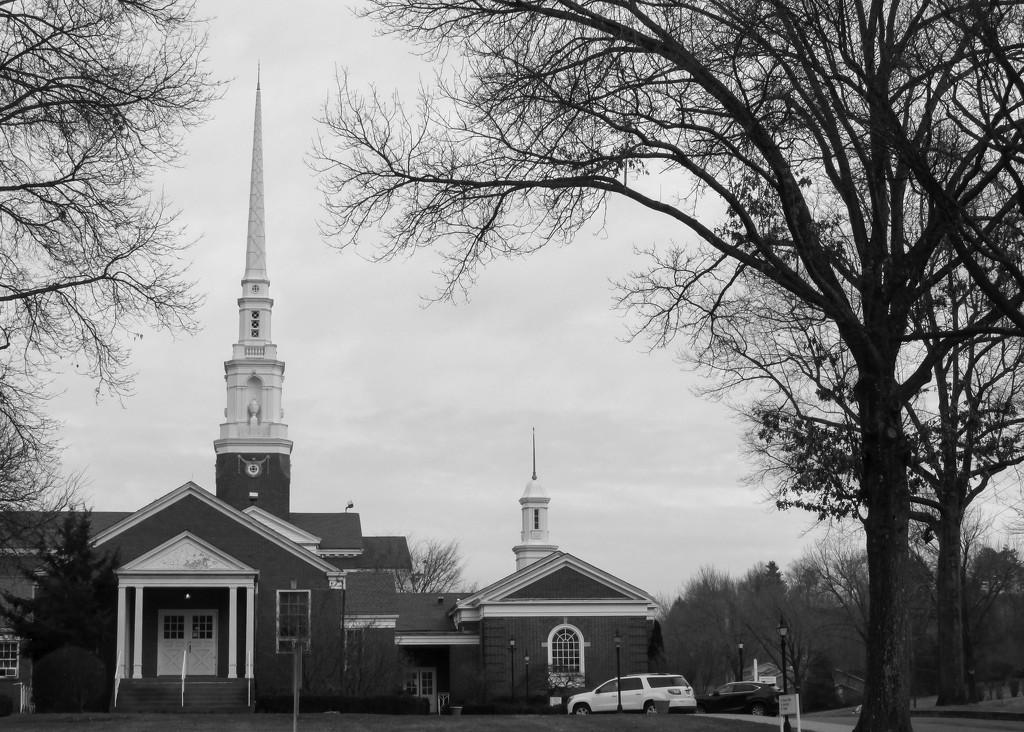 Church by mittens