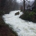 Rydal Hall Beck during Storm Ciara