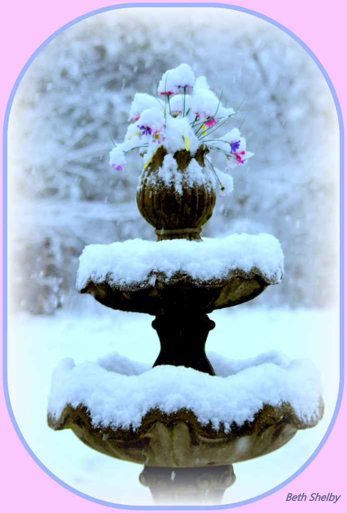 My Fountain by vernabeth