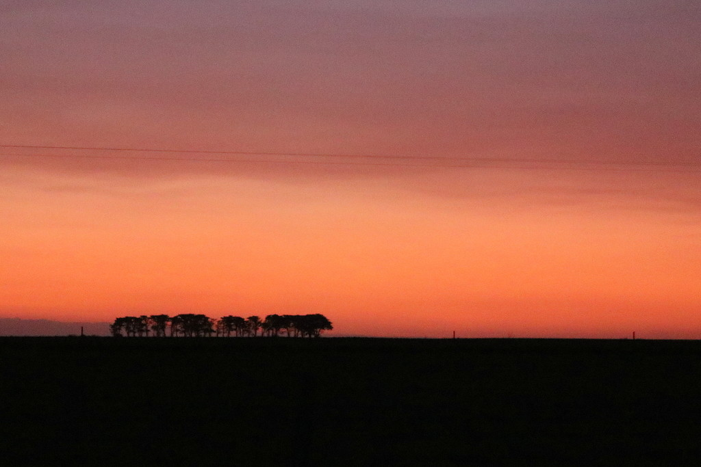 Layered sunset by gilbertwood
