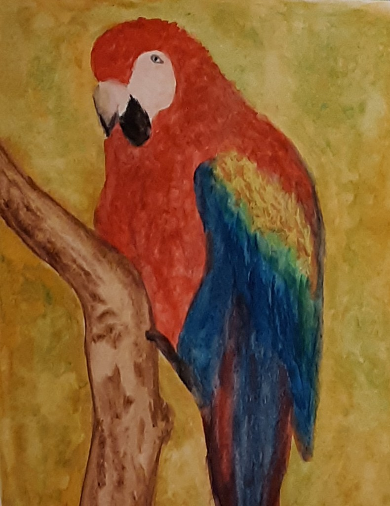 New watercolor painting  by julie