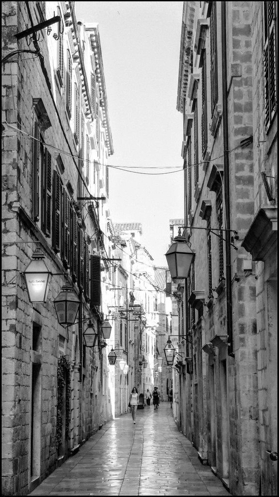 The lovely alleyways of Dubrovnik for today's architecture by lyndamcg