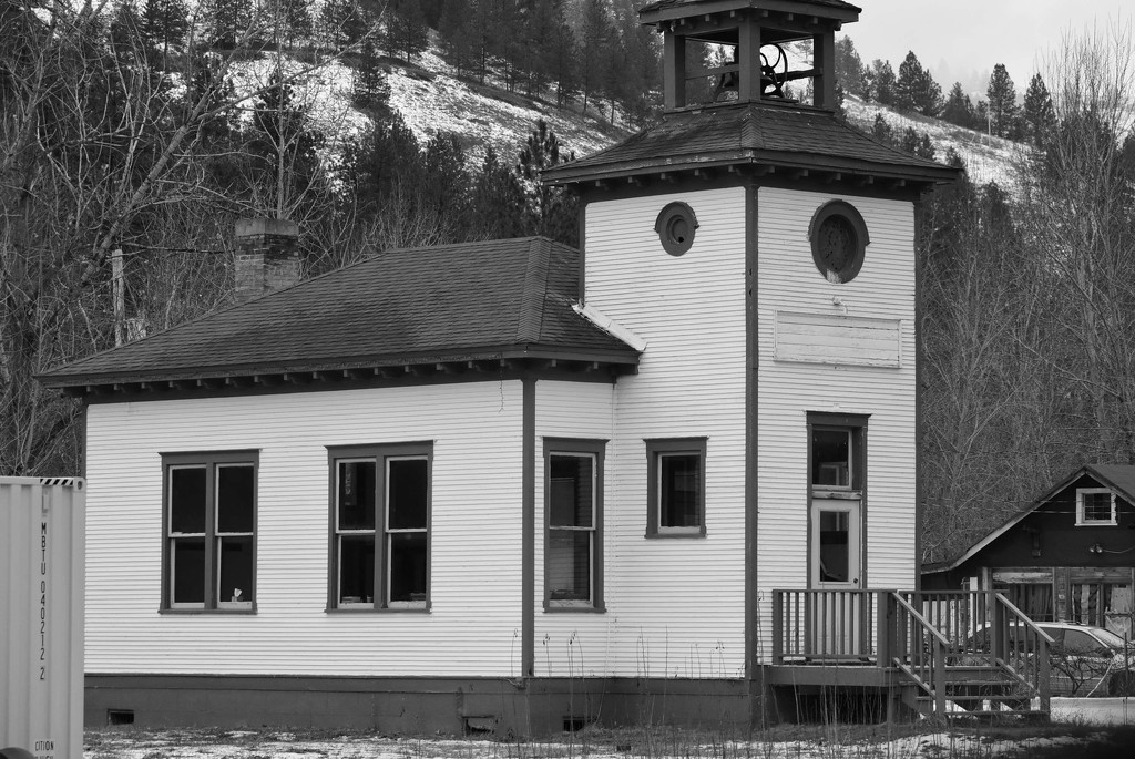 Church in Ravalli, Montana by bjywamer
