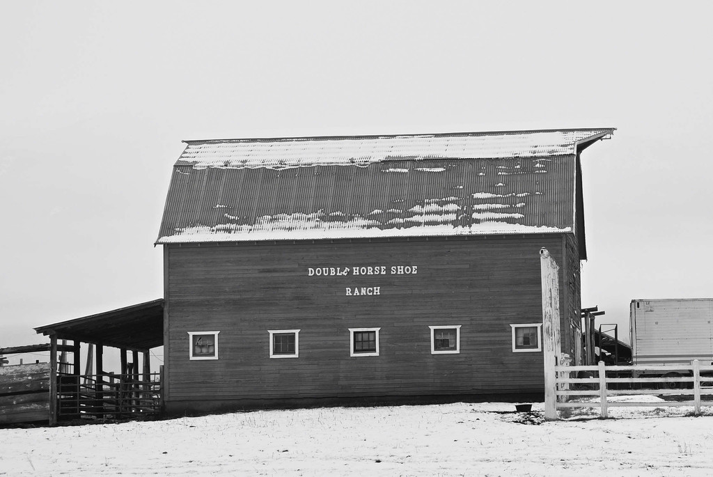 Double Horseshoe Ranch by bjywamer