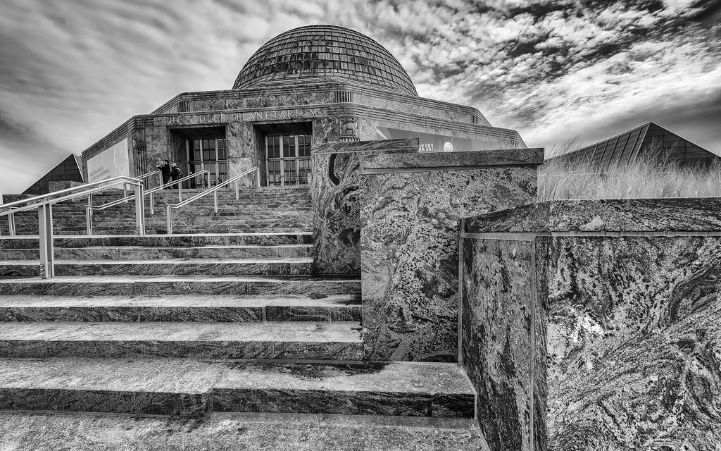 Adler Planetarium by taffy