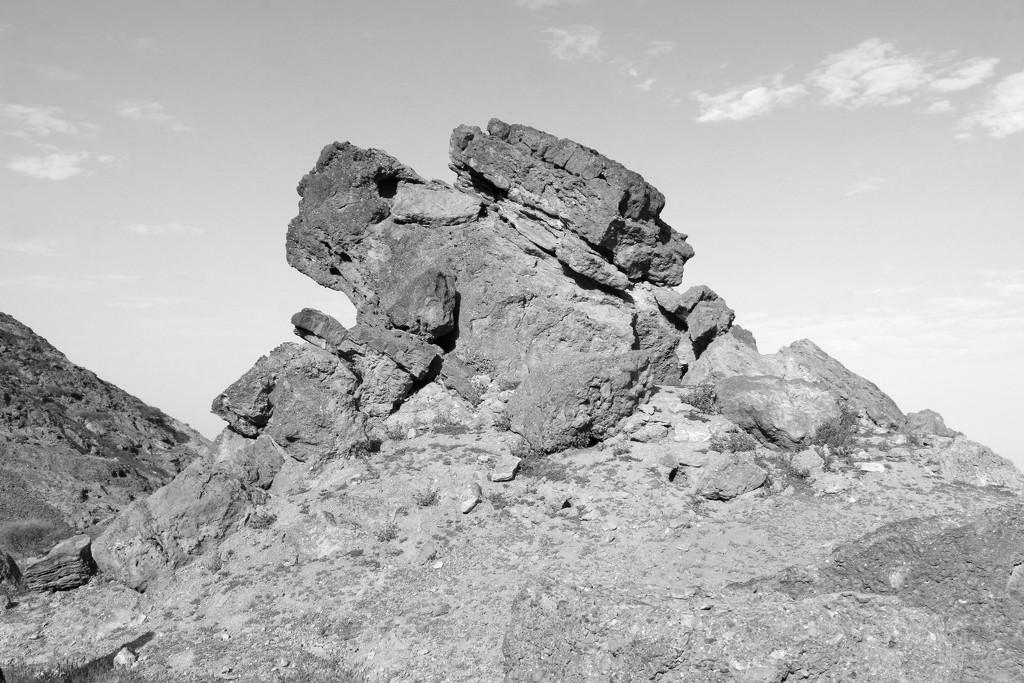 Rocks on a mountain by ingrid01