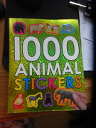 11th Feb 2020 - 1000 animal stickers