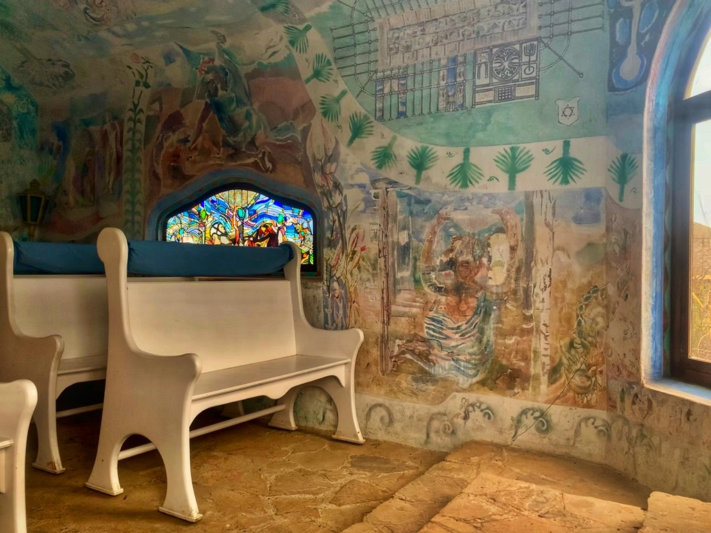 Murals in the chapel, continued  by louannwarren