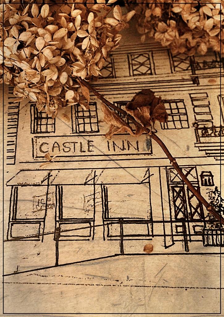 Castle Inn Sketch by olivetreeann