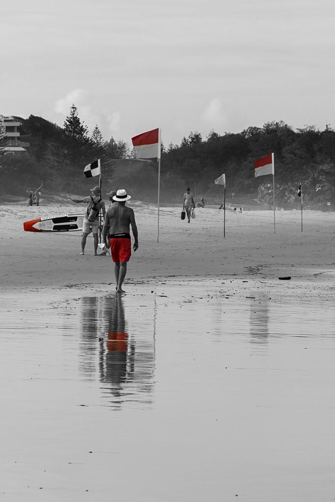 Swim between the flags  by sugarmuser