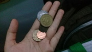 11th Feb 2020 - Tunisian Coins and one cent $