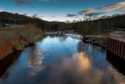 13th Feb 2020 - Evening on the River Calder