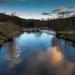 Evening on the River Calder by peadar