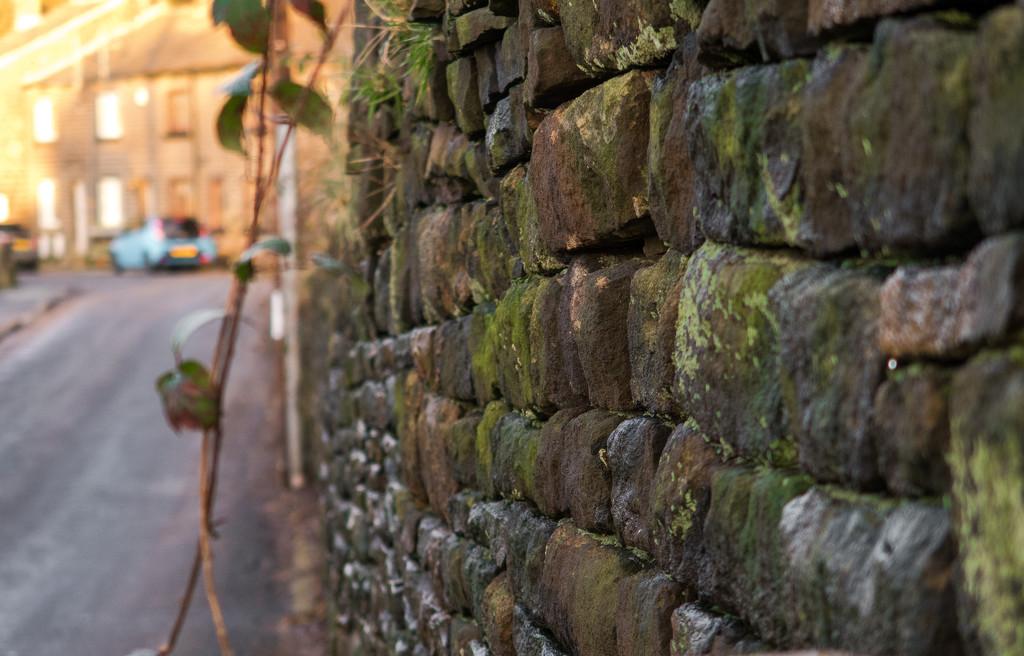 Stone wall by peadar
