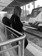 13th Feb 2020 - Waiting for the train