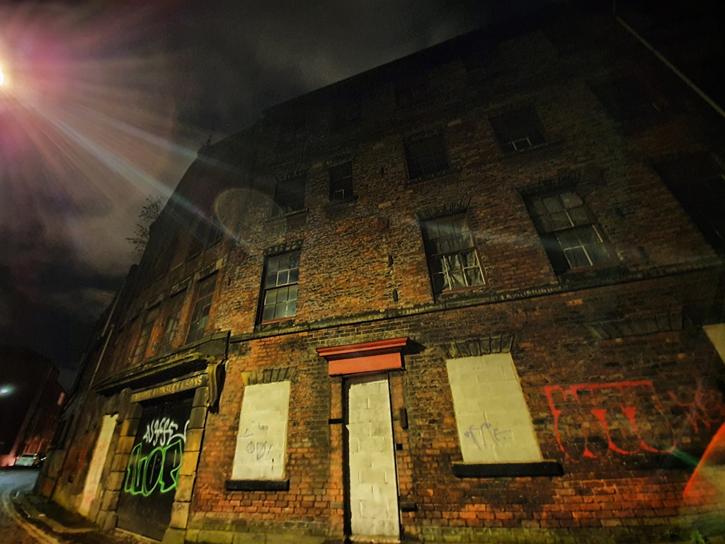 Old factory - George Barnsley and Sons  by isaacsnek