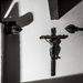 Man Made/Architecture: Curtain Rails and Crucifix