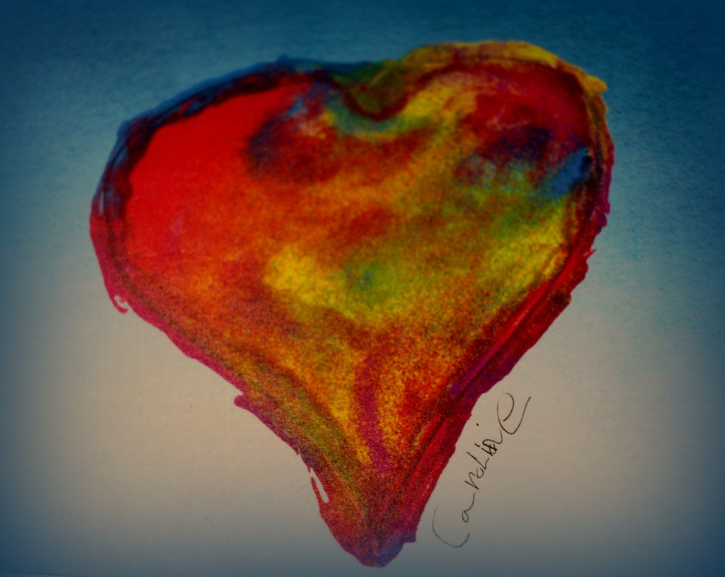 Painted Heart by judyc57