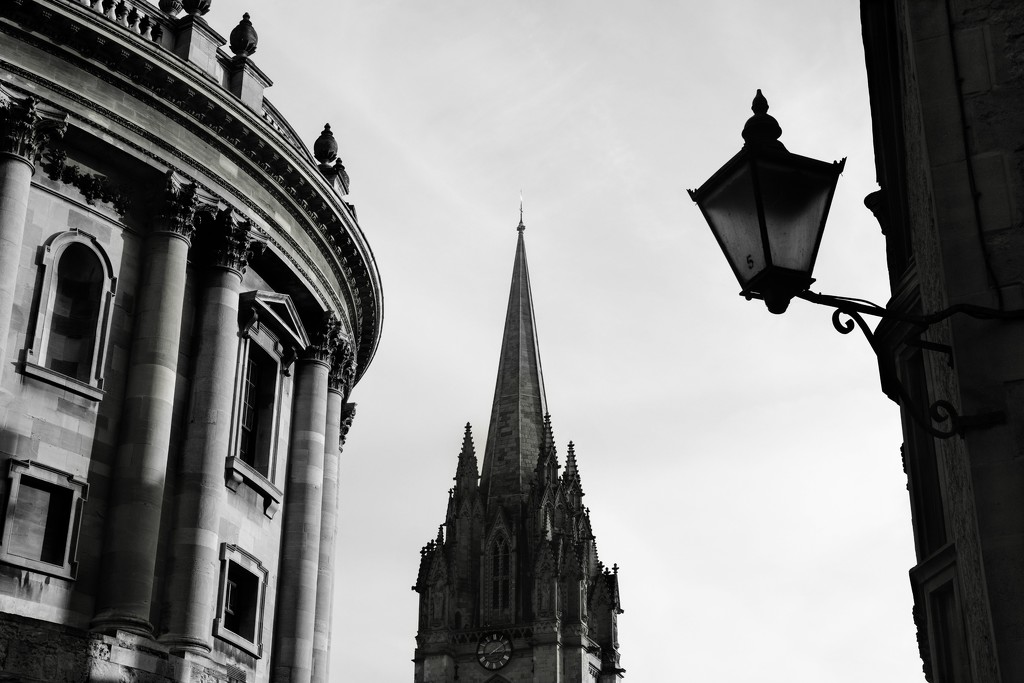 Radcliffe Square B&W by 4rky