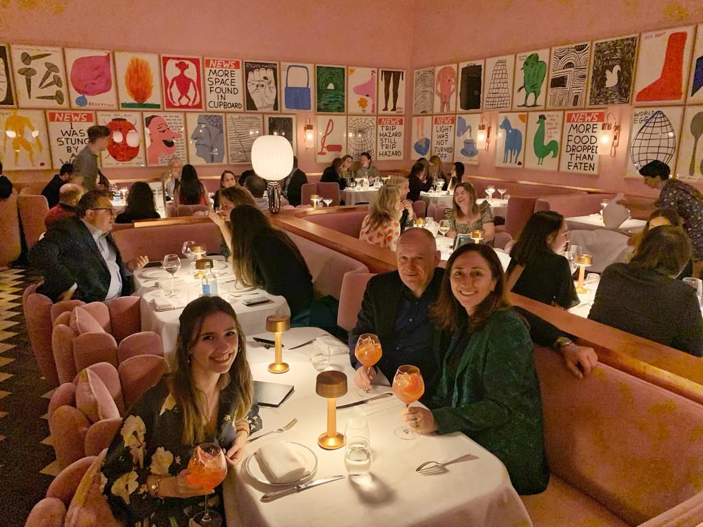 Diner at Sketch.  by cocobella