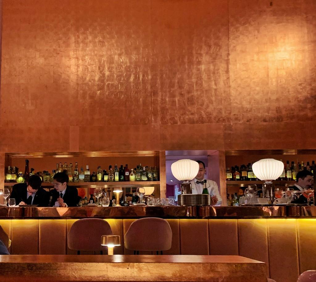 Golden bar.  by cocobella