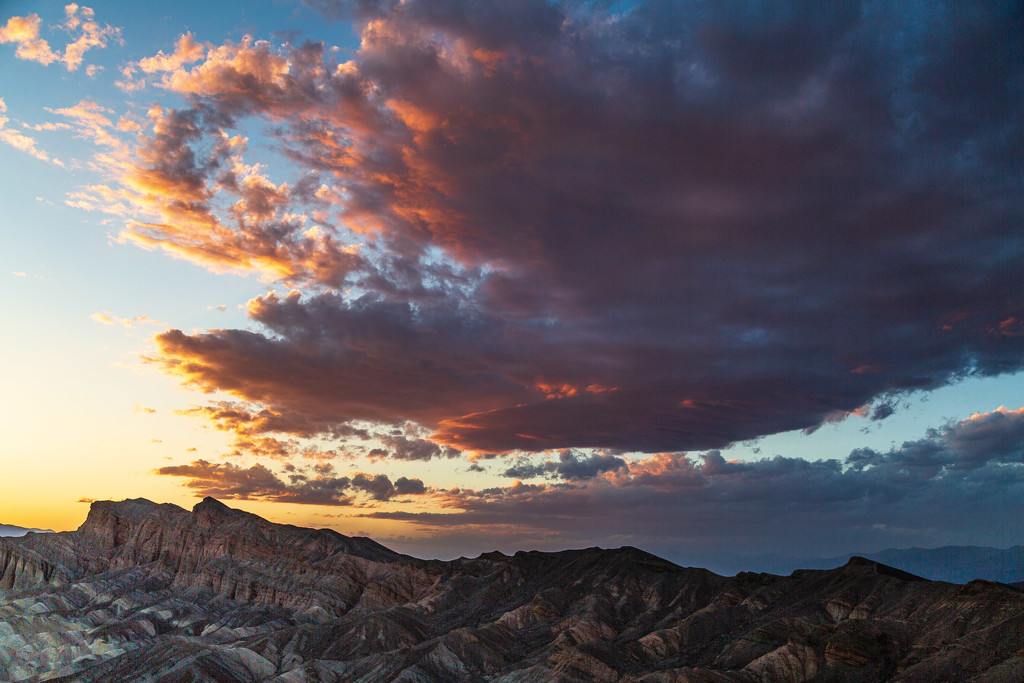 Sunset in Death Valley by photograndma