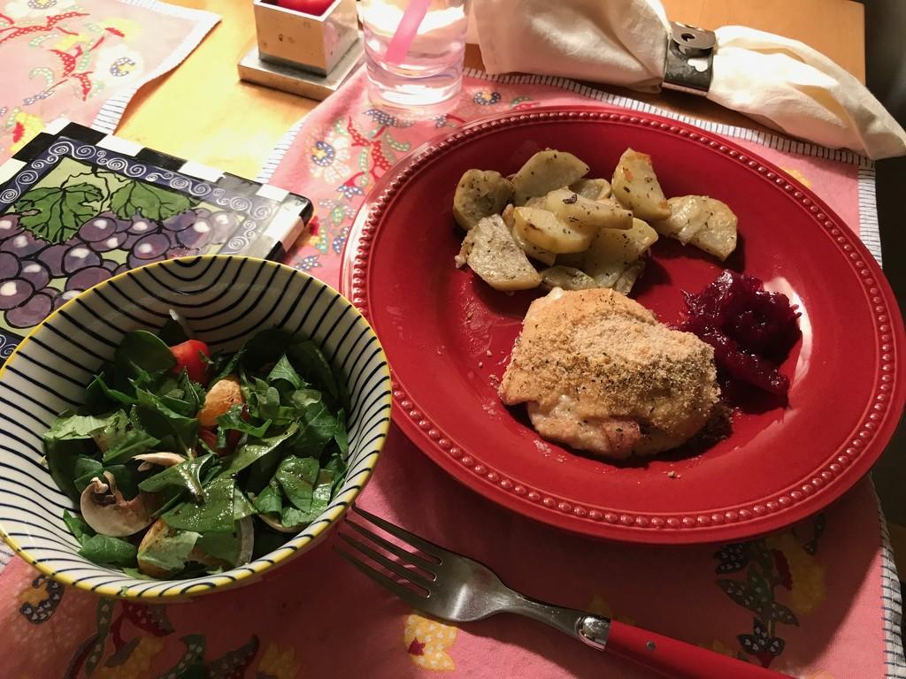 Valentine Dinner Chez Nous by allie912